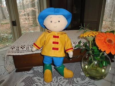 CAILLOU DOLL Rubber Raincoat Outfit 2001 Cinar