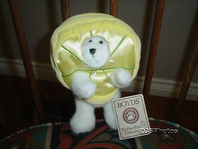 Boyds Bear Best Dressed Series Pucker Peeker Lemon Rare