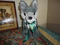 Wolf Plush Toy Williams Lake Credit Union British Columbia Canada Collectible
