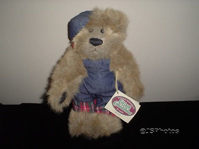 "Ganz Cottage Collectibles Jointed Bear Baxter 1999 9.5"" Artist Catherine Tredger"