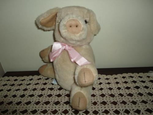 Merrythought UK Exclusively for Holt Renfrew PIG Stuffed Plush
