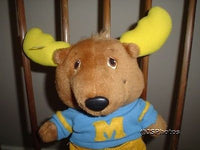 Get Along Gang Montgomery Moose Stuffed Doll 1984 Tomy