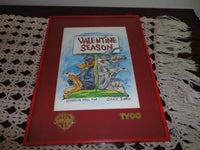 WB Tyco Chuck Jones Bugs Bunny & Daffy VALENTINE SEASON Framed Giclee Art Print
