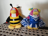 Disney CLUB PENGUIN Lot of 2 Plush