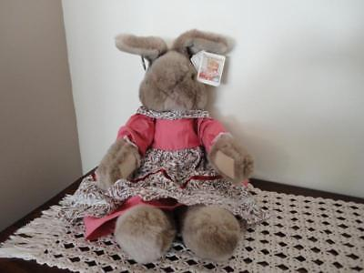 Ganz Heritage Vintage 1987 JUMBO 27in MRS BURROWS Bunny