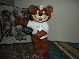 Zellers Canada ZEDDY BEAR BANK 10 inch Handpainted
