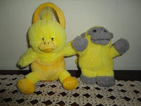 Duck & Monkey Yellow Baby Soft Toys Stuffed Animals