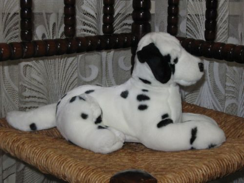 Gorgeous Dutch Laying Dalmatian Dog Plush