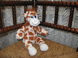 Ostoy Netherlands Giraffe Plush With Bow So Cute