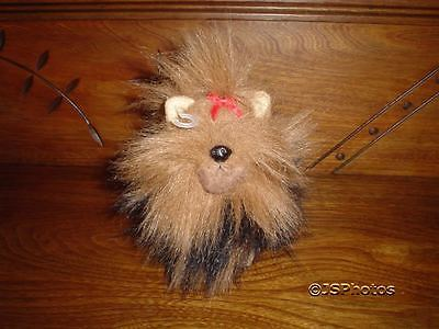 Aurora Yorkshire Terrier Handmade Plush Dog