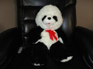 Giant Panda Bear Stuffed Plush 22 inch Open Mouth