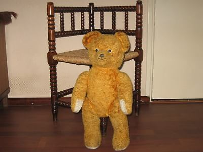 Old Antique 1930s Dutch Arthur Van Gelden Bear Copper Brown 54 cm 21 Inch
