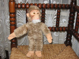 Old Antique German Schuco Hegi Monkey Plush 11 Inch