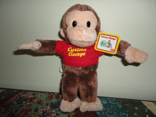 Gund Curious George Monkey Stuffed Plush Toy