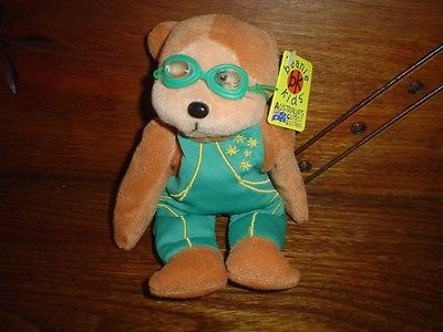 Australia bk Cutest Collectibles Birthday 18.12.05 Sagittarius Bear With Glasses