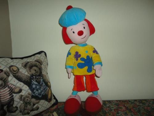 Walt Disney World Exclusive JOJO CIRCUS CLOWN 20 inch LARGEST Bendable Toy