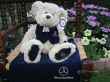 Henry Bear Mercedes Benz Exclusive Handmade 2000 UK Ltd Edition 14 inch
