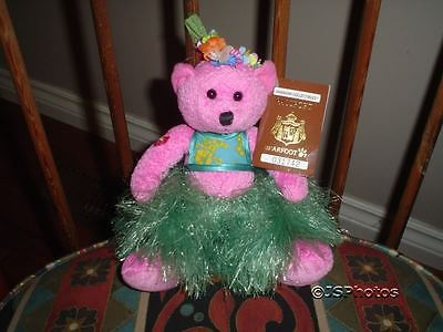 Hawaiian Collectibles Lokelani Bear Handmade