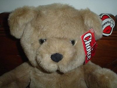 Ganz 1994 HUGSWORTH Bear Retired with All Tags 15 inch