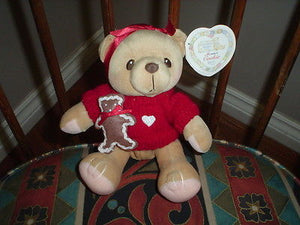 Cherished Teddies Cookie Teddy Bear Retired Enesco 1999