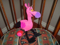 Walt Disney Fantasia Carnival of the Animals Flamingo Exclusive Pink Plush
