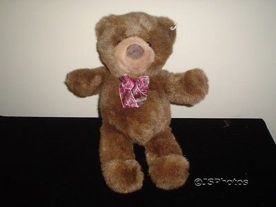 Gund Heads and Tales Brown Bear 14 Inch Handmade Retired