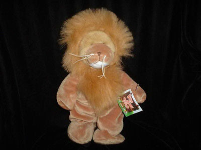 Ganz Wee Bear Village Large 11 Inch King The Lion Plush New with Tags Retired