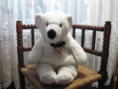 Sunkid Germany Polar Bear Jumbo 16 Inch Sitting
