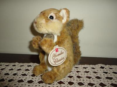 Russ Yomiko Classics SQUIRREL Stuffed w Tags Retired