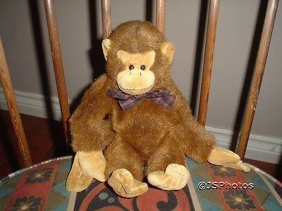 BOYDS COLLECTION MONKEY 1985 - 97 RETIRED 12 inch