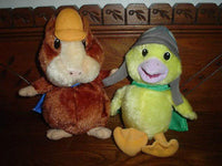 Wonder Pet Linny Hamster and Ming Ming Duck Stuffed Toys