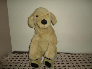 Ikea Sweden Gosig Golden Labrador Puppy Dog 15 inch All Tags