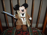 Mickey Mouse Star Wars Jedi Knight Doll Disney