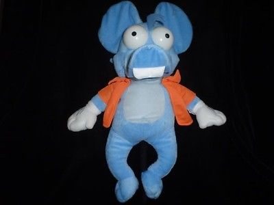 Ganz The Simpsons Itchy & Scratchy Mouse Stuffed Toy 16 inch 20th Century Fox