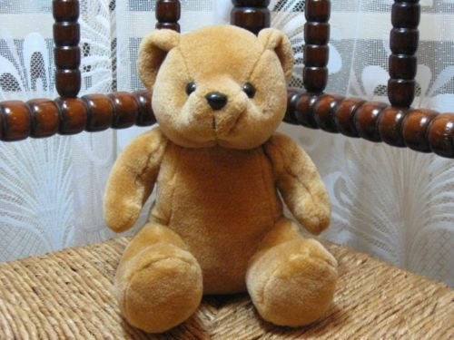 Brown Teddy Bear Dino Toys Apeldoorn Netherlands Cute Sitting