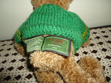 Gund 100 Year CELEBRATION Bear Handmade Gund Sweater 1998