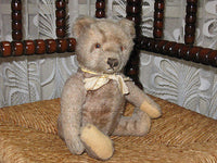 Antique Steiff 1950s Original Teddy Mohair Bear 28cm 5328,2c Armando