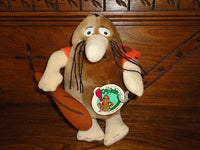 Hanna Barbera 1980 Vintage CAPTAIN CAVEMAN Stuffed Doll Mighty Star Quebec New