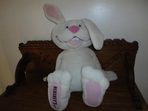 Hersheys Chocolate Authentic Easter Bunny Rabbit Large 21 inch Hershey