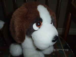 St Bernard Dog Gina Stuffed Plush Toy