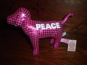 Victorias Victoria's Secret Pink Peace Dog