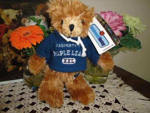 Authentic Licensed NHL Hockey Toronto Maple Leafs Bear 9 inch w tags