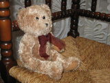 Sad Ted Brown Teddy Bear With Bow 24CM