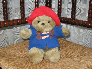 P & Co Ltd Belgium PADDINGTON Bear 23 CM Globetrade 2009
