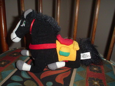 Walt Disney Mulan Khan Horse Exclusive Plush Toy
