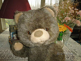 Antique EFFE ITALY BEAR Classic Brown Jointed Teddy16 inch Plush