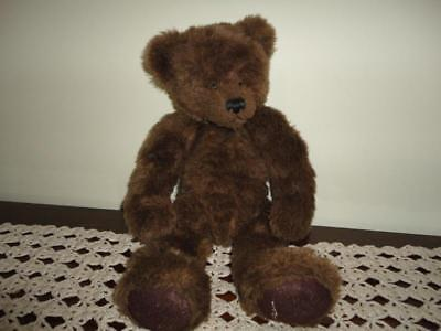Ganz Humpback Bear Brown Plush 16in. Cottage Collectibles Artist Terry Skorstad