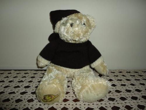 Second Cup Coffee Shop Authentic TEDDY BEAR 12 inch
