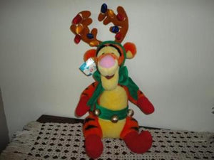 DISNEY Exclusive Christmas REINDEER TIGGER 19 inch