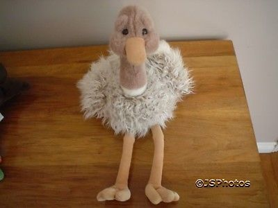 Gund Dahling Ostrich Stuffed Large 17 Inch Retired 1997
